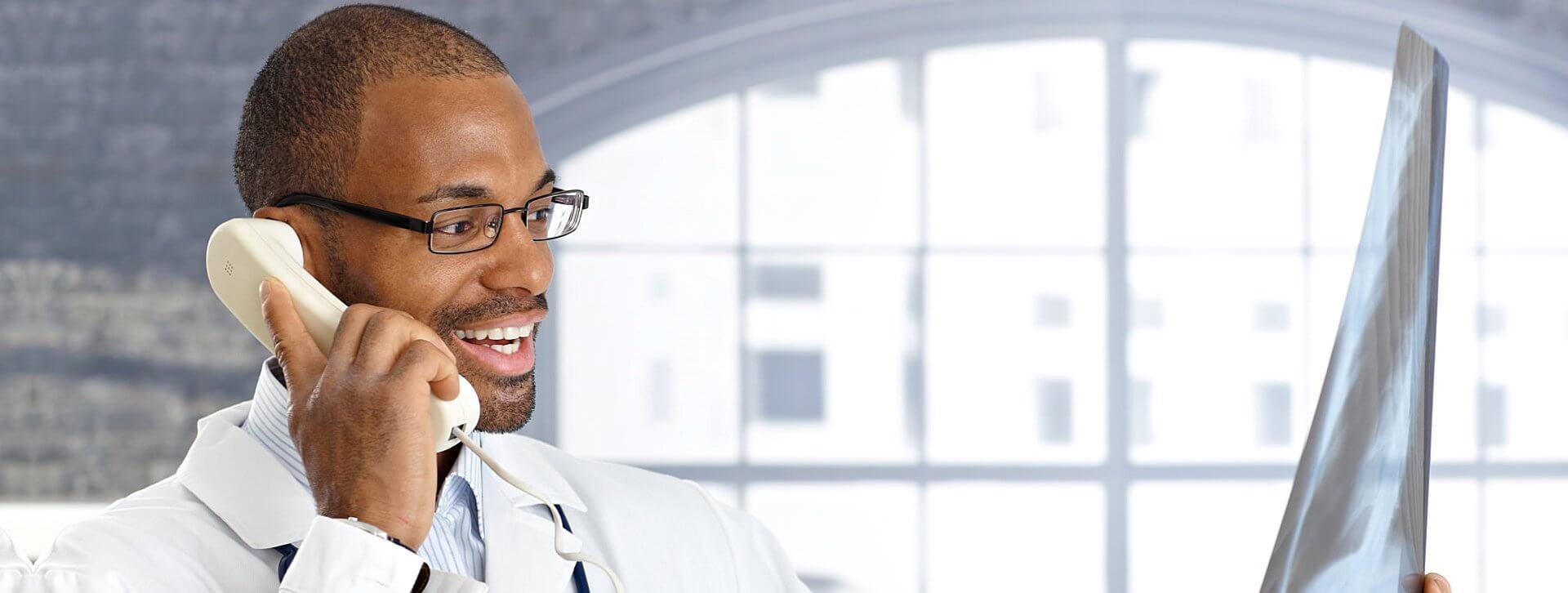 medical staff calling